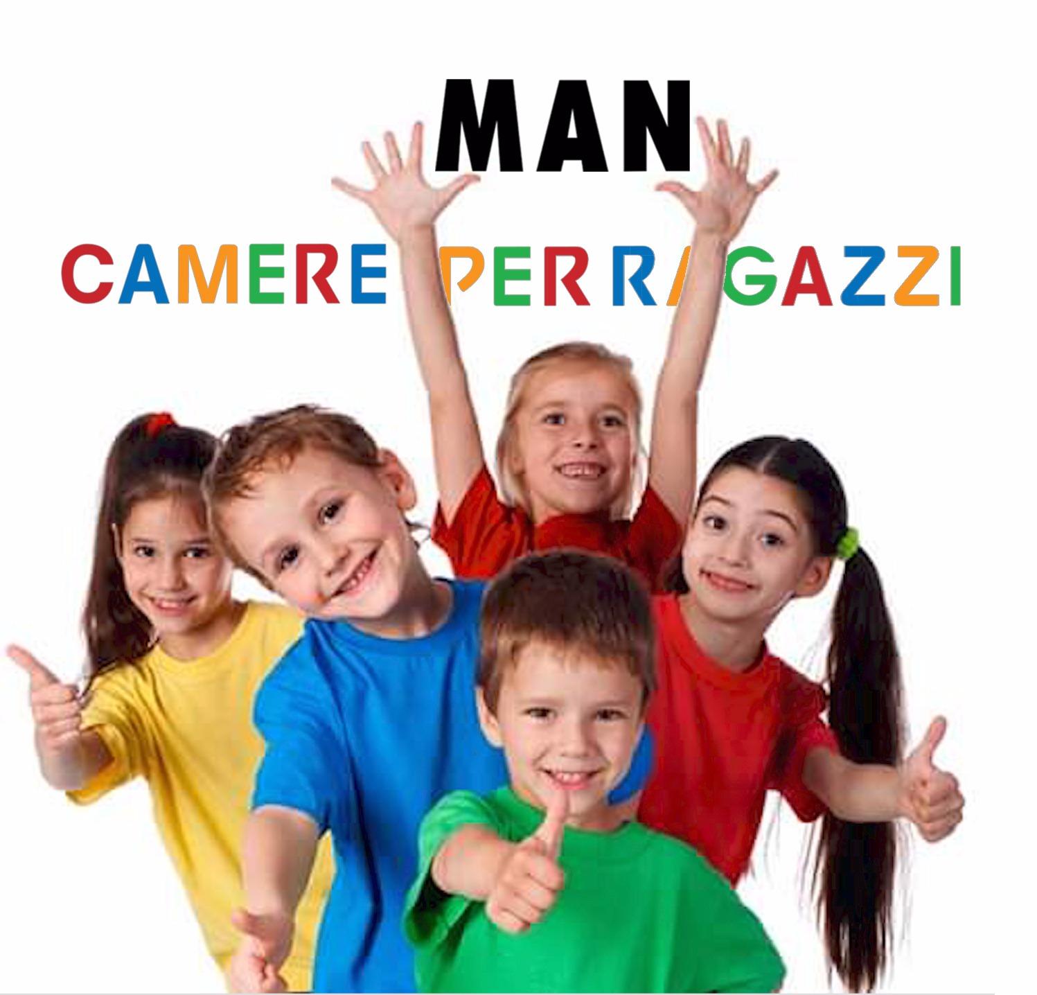 Man Camere per ragazzi: l\'arredamento delle Camerette a Roma